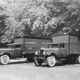 Dineen Dairy Trucks, 1930s