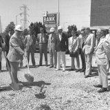 State Bank Hales Corners Groundbreaking, 1977