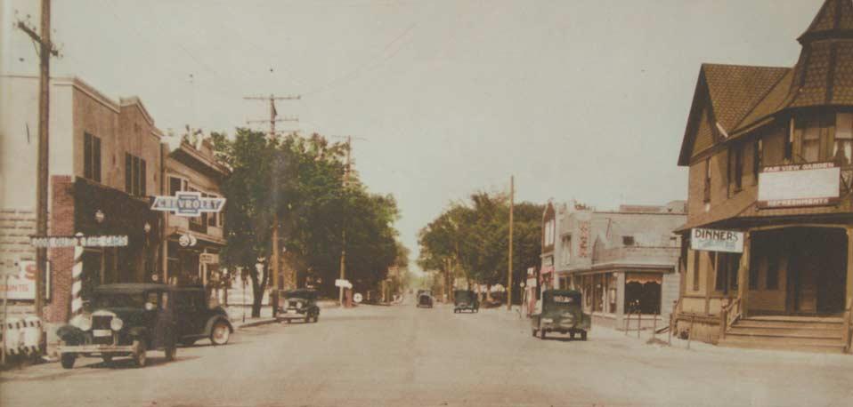 JANESVILLE ROAD, 1920s