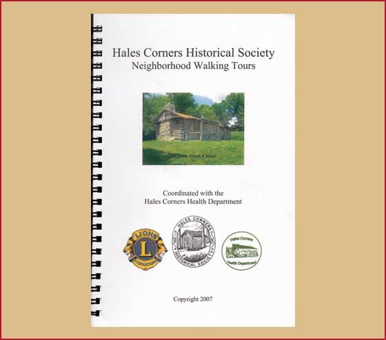 Hales Corners Historical Society Neighborhood Walking Tours